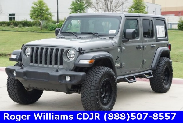 2019 Jeep Wrangler in Weatherford, TX