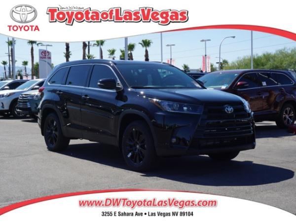 2019 Toyota Highlander in Las Vegas, NV