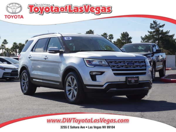 2018 Ford Explorer in Las Vegas, NV