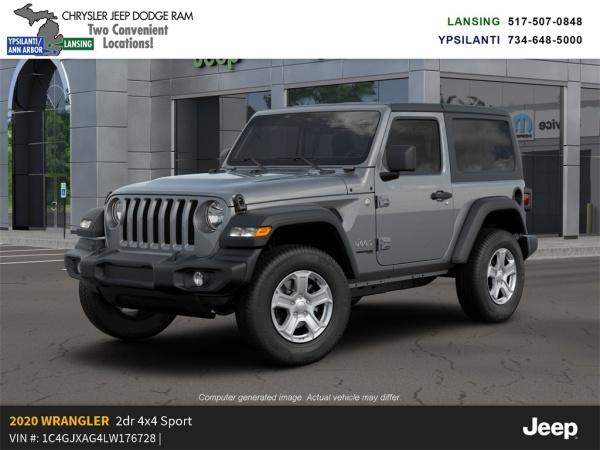 2020 Jeep Wrangler in Ypsilanti, MI