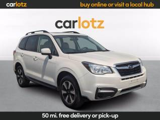 used subaru forester 2 5i premiums for