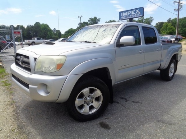 2006 toyota tacoma double cab 6 1 39 bed v6 4wd automatic for sale in greensboro nc truecar. Black Bedroom Furniture Sets. Home Design Ideas