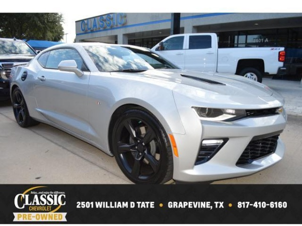 2018 Chevrolet Camaro Ss With 2ss Coupe For Sale In