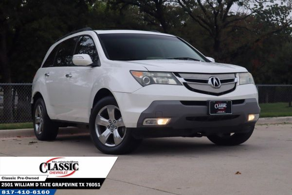 2007 Acura MDX with Entertainment/Sport Package