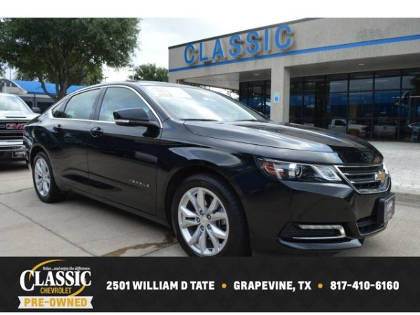 2019 Chevrolet Impala Lt With 1lt For Sale In Grapevine Tx