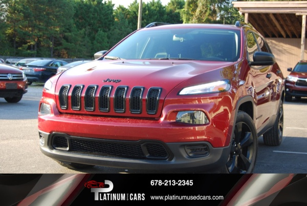 2017 Jeep Cherokee in Alpharetta, GA