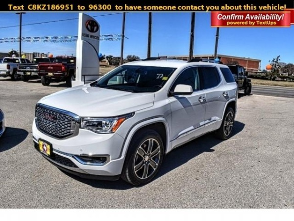 2019 GMC Acadia in San Angelo, TX