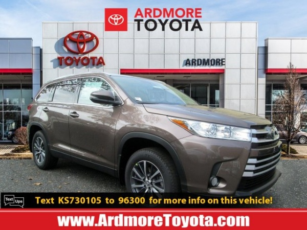 2019 Toyota Highlander in Ardmore, PA