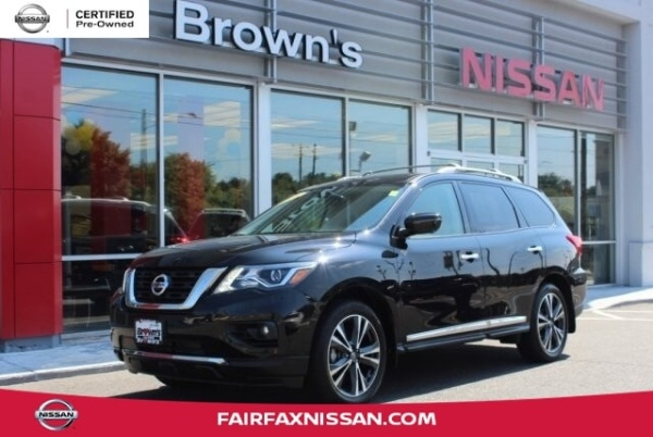 2018 Nissan Pathfinder in Fairfax, VA