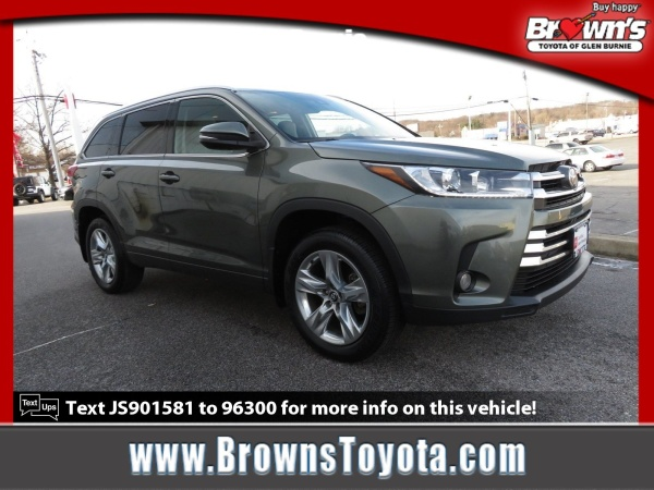 2018 Toyota Highlander in Glen Burnie, MD