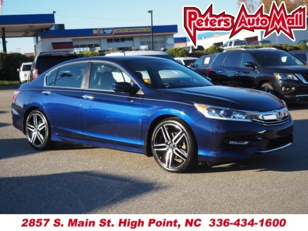 2016 Honda Accord In High Point Nc