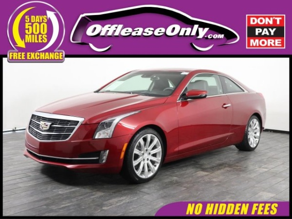 2016 Cadillac Ats Luxury Collection Coupe 2 0t Rwd For Sale In Miami