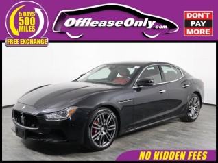 Used 2017 Maserati Ghibli For Sale 96 Used 2017 Ghibli Listings