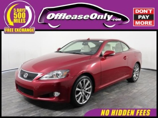 Used 2015 Lexus IS IS 250C Convertible RWD For Sale In Miami, FL