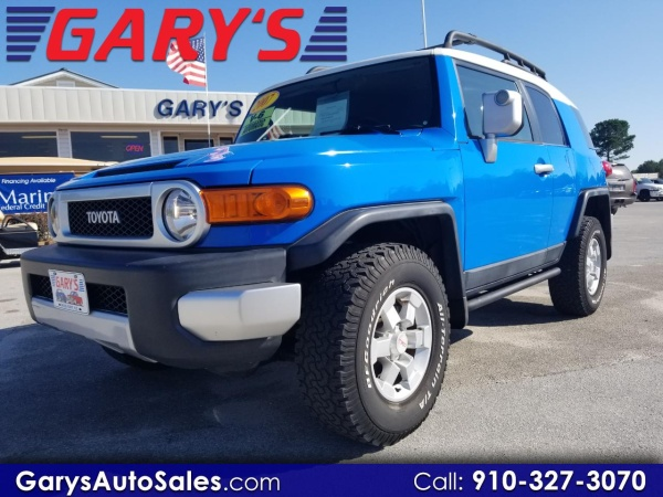 Used Car Dealerships In Jacksonville Nc >> Used Toyota Fj Cruiser For Sale In Jacksonville Nc 5 Cars