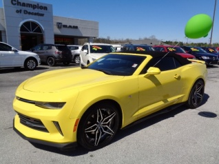 2017 Chevrolet Camaro Lt With 1lt Convertible For In Decatur Al
