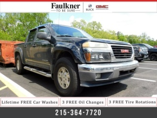 2005 Gmc Canyon Sle Z71 With 1sf Crew Cab 4wd Sb For In Trevose