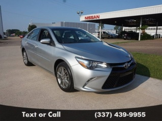 Used 2017 Toyota Camry XSE I4 Automatic For Sale In Lake Charles, LA