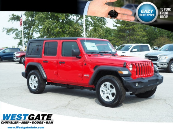 2019 Jeep Wrangler in Plainfield, IN