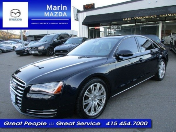 2014 audi a8 4 0t for sale in san rafael ca truecar. Black Bedroom Furniture Sets. Home Design Ideas