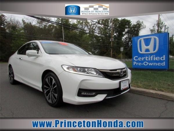 Honda Of Princeton >> 2017 Honda Accord Ex L With Honda Sensing Navigation Coupe