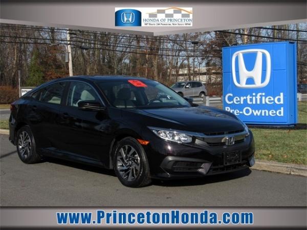 Honda Of Princeton >> 2016 Honda Civic Ex Sedan Cvt For Sale In Princeton Nj