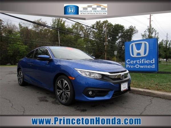 Honda Of Princeton >> 2017 Honda Civic Ex L Coupe Cvt For Sale In Princeton Nj