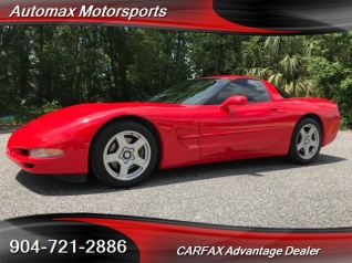Used 1998 Chevrolet Corvette Standard Coupe For Sale In Jacksonville, FL