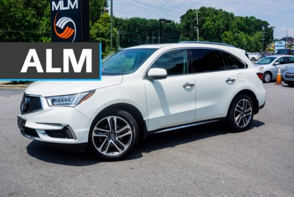 2017 Acura MDX SH-AWD w/Advance