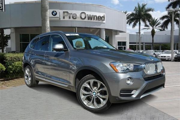 2017 BMW X3 in Coconut Creek, FL