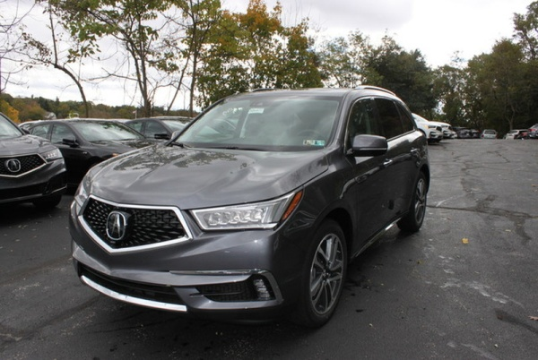 2018 Acura MDX SH-AWD with Advance/Entertainment Package