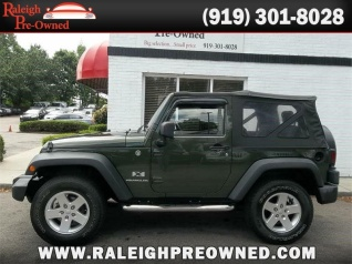 Used 2008 Jeep Wrangler X 4WD For Sale In Raleigh, NC