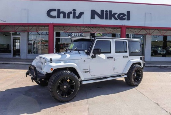 2016 Jeep Wrangler in Broken Arrow, OK