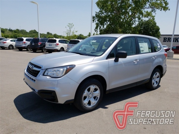 2018 forester manual