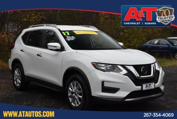2017 Nissan Rogue in SELLERSVILLE, PA