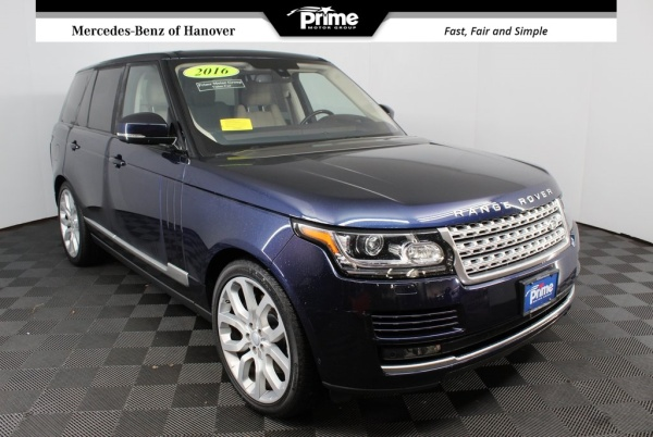 2016 Land Rover Range Rover in Hanover, MA