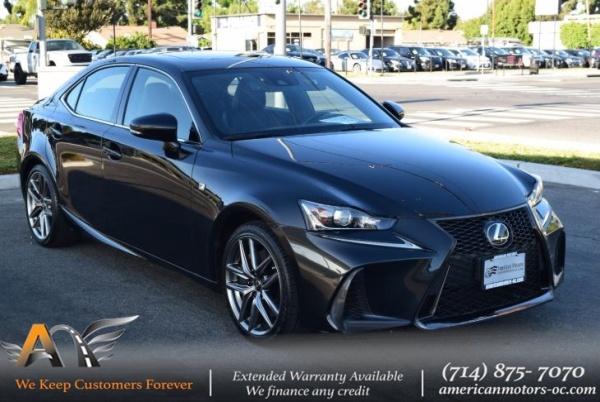 2017 Lexus IS in Fullerton, CA