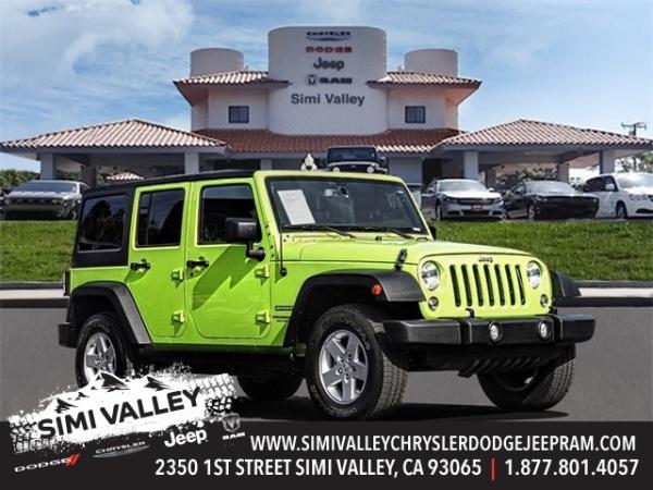 2017 Jeep Wrangler in Simi Valley, CA