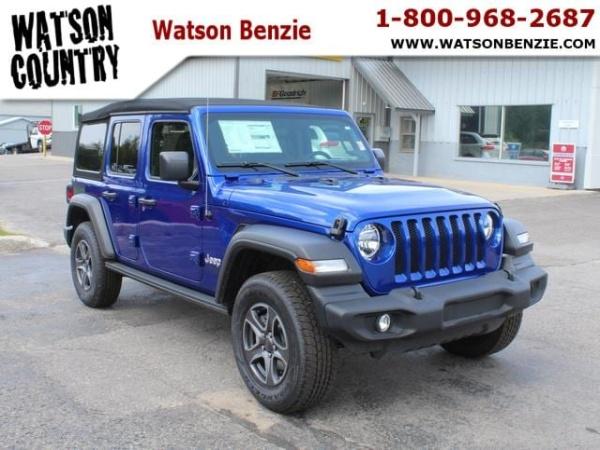 2019 Jeep Wrangler in Benzonia, MI