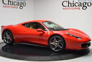 Charming Used 2010 Ferrari 458 Italia Coupe For Sale In Chicago, IL