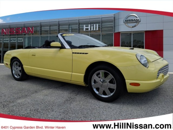 Winter Haven Ford >> 2002 Ford Thunderbird Deluxe For Sale In Winter Haven Fl
