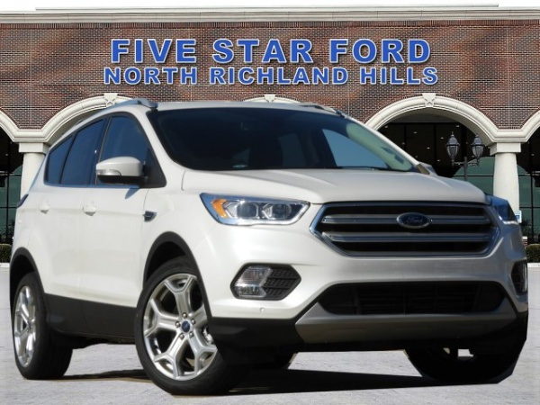 Five Star Ford North Richland Hills >> 2019 Ford Escape Titanium Awd For Sale In North Richland Hills Tx