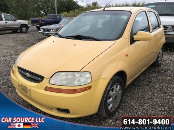 2004 Chevrolet Aveo Ls Hatch For Sale In Grove City Oh Truecar