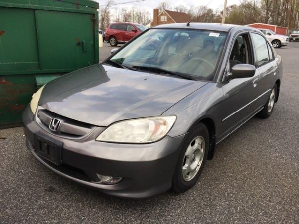 2005 Honda Civic Hybrid Sedan Cvt Ulev