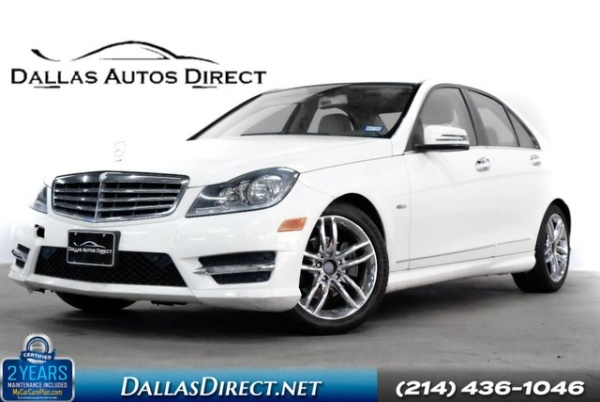 2012 Mercedes-Benz C-Class in Carrollton, TX
