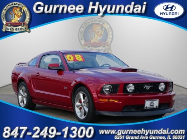 2008 Ford Mustang Gt Deluxe Coupe For Sale In Gurnee Il Truecar
