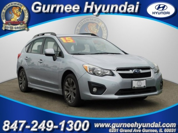 2013 Subaru Impreza 20i Sport Premium Wagon Auto For Sale In Gurnee
