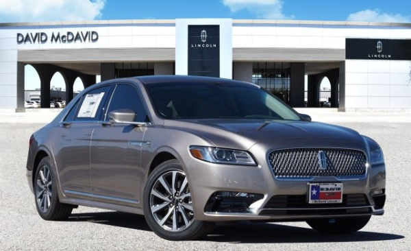 2019 Lincoln Continental Standard