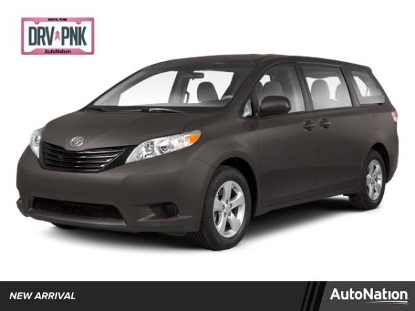 2012 Toyota Sienna Base 7-Passenger