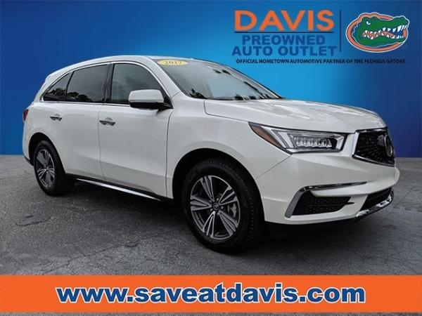 Acura Of Gainesville >> 2017 Acura Mdx Fwd For Sale In Gainesville Fl Truecar